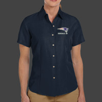 Patriot - M560W Harriton Ladies' Barbados Textured Camp Shirt
