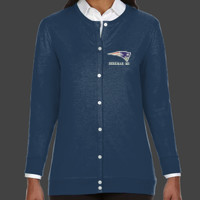 Patriot - DP181W Devon & Jones Perfect Fit™ Ladies' Ribbon Cardigan