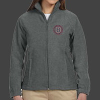 Medallion - M990W Harriton Ladies' 8oz. Full-Zip Fleece