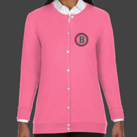 Medallion - DP181W Devon & Jones Perfect Fit™ Ladies' Ribbon Cardigan